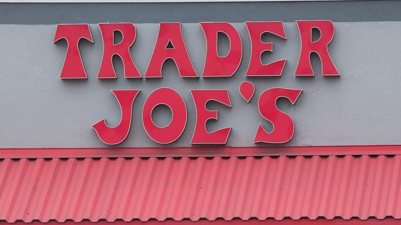 Trader Joe's sign on building