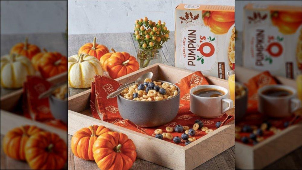 Trader Joe's pumpkin breakfast cereal