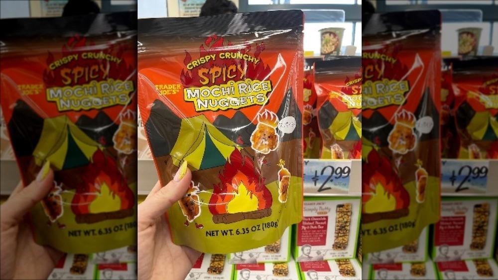 A bag of Trader Joe's new snack