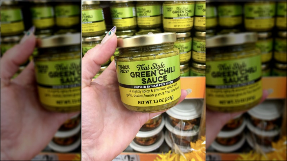 Trader Joe's new Thai green chili sauce