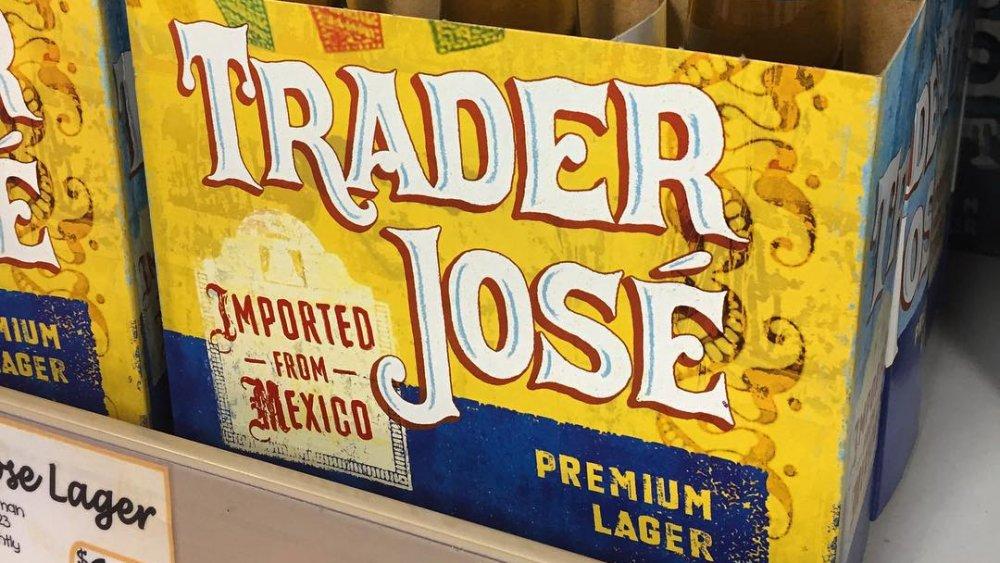 Trader Jose's premium lager at Trader Joe's