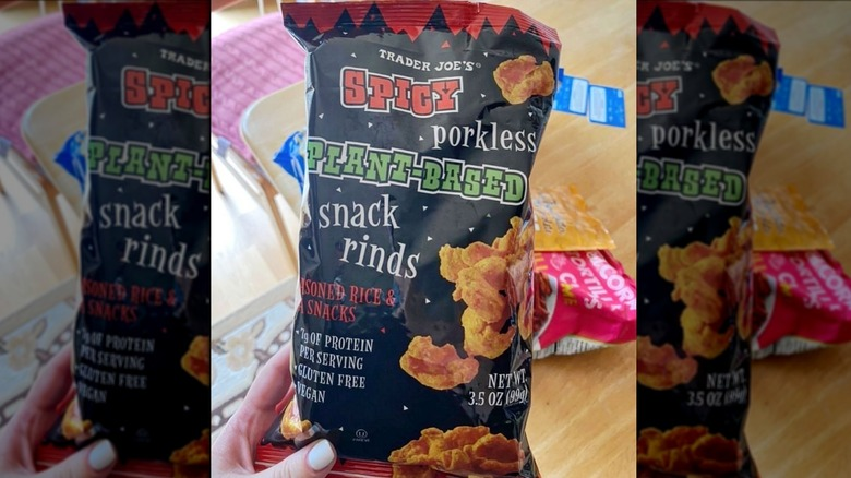 Trader Joe's vegan pork rinds