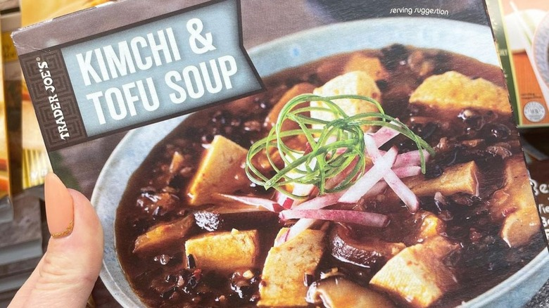 Box of Kimchi and Tofu Soup