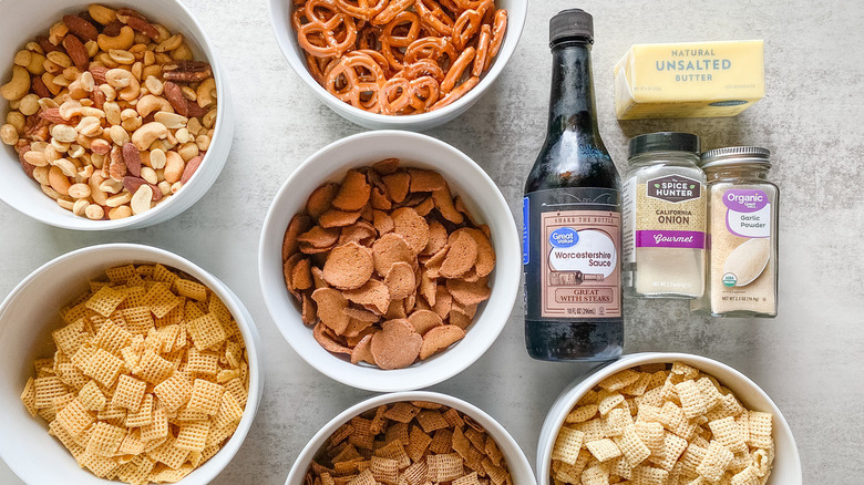 Chex Party Mix ingredients