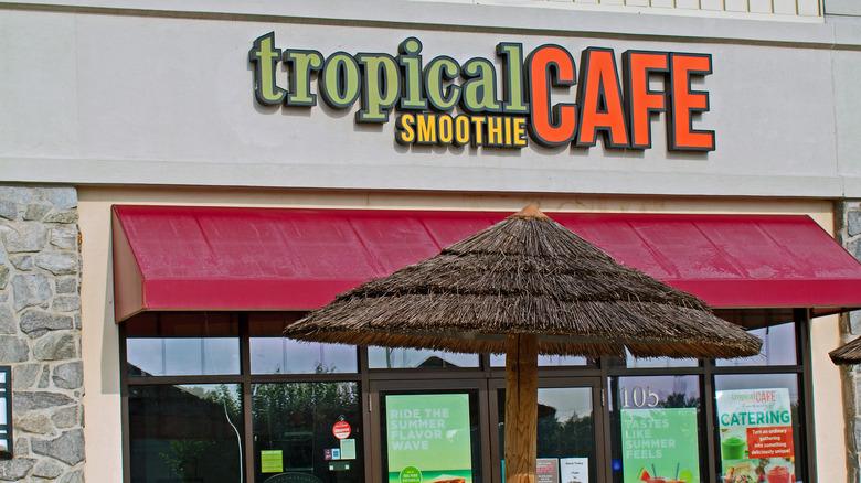 A Tropical Smoothie Cafe location