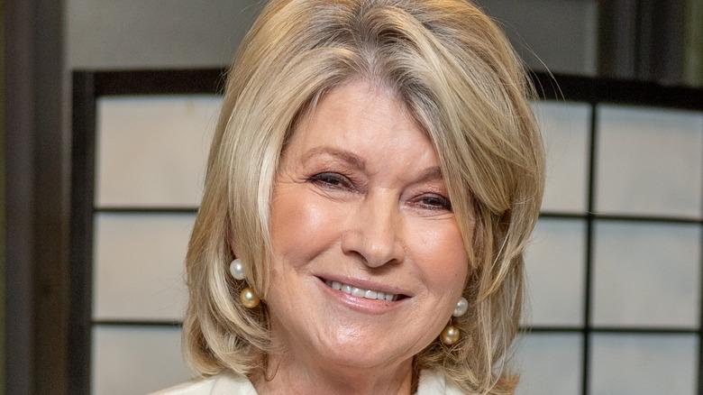 Martha Stewart pearl earrings
