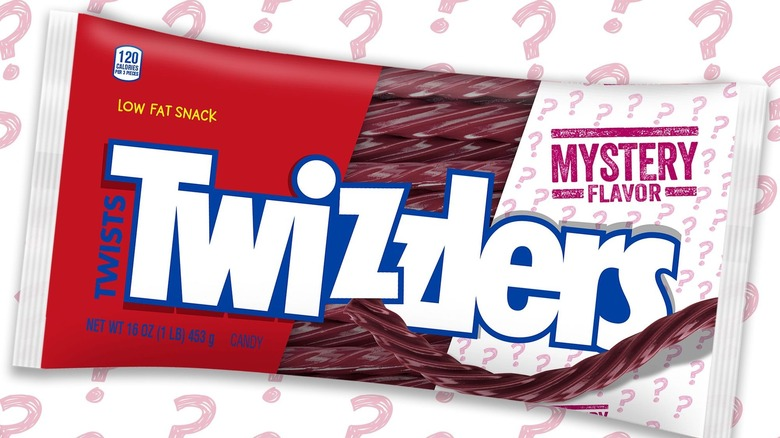 Twizzlers mystery flavor package