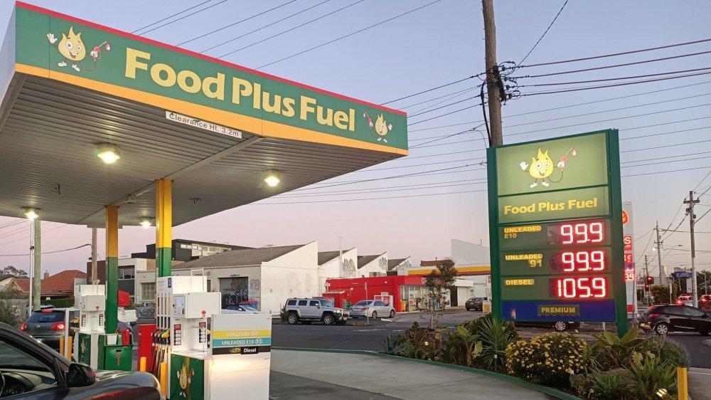 Food Plus Fuel gas station