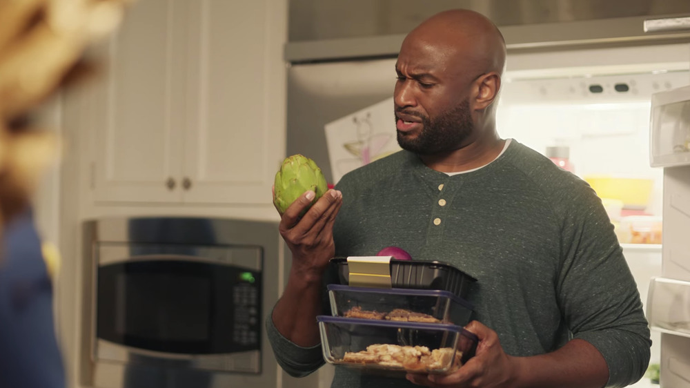 man in Hellmann's Super Bowl commercial