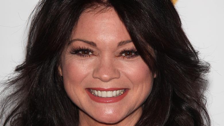 Valerie Bertinelli smiling on red carpet