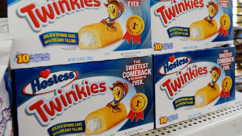 Boxes of Twinkies