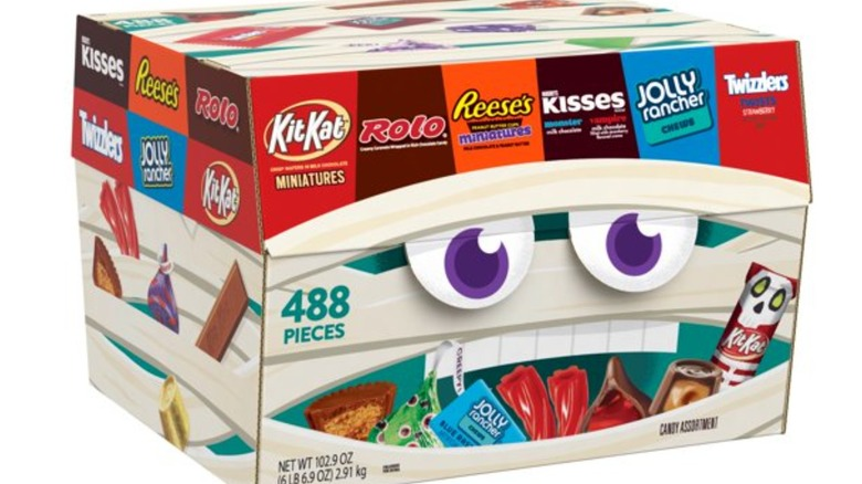 Walmart Hershey's Halloween candy Box