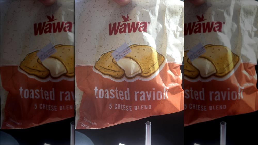 Bag of Wawa toasted ravioli