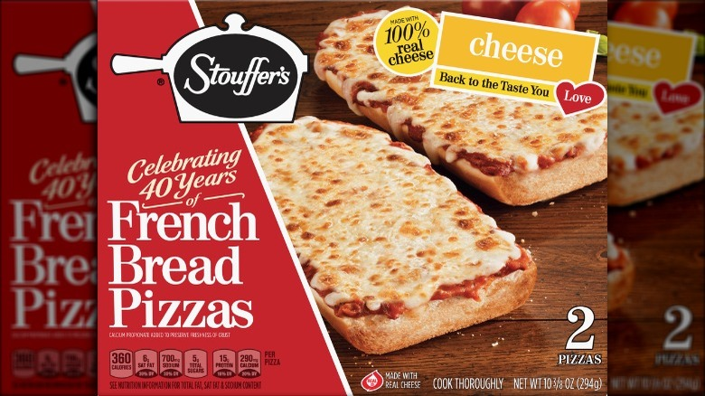 Stouffer's French bread pizza