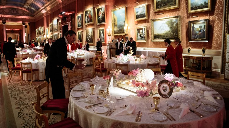 buckingham palace dinner