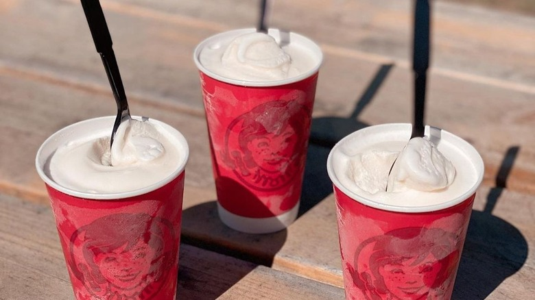 Wendy's Frostys