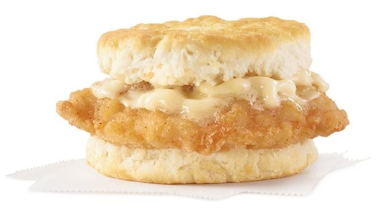 Wendy's Honey Butter Chicken Biscuit