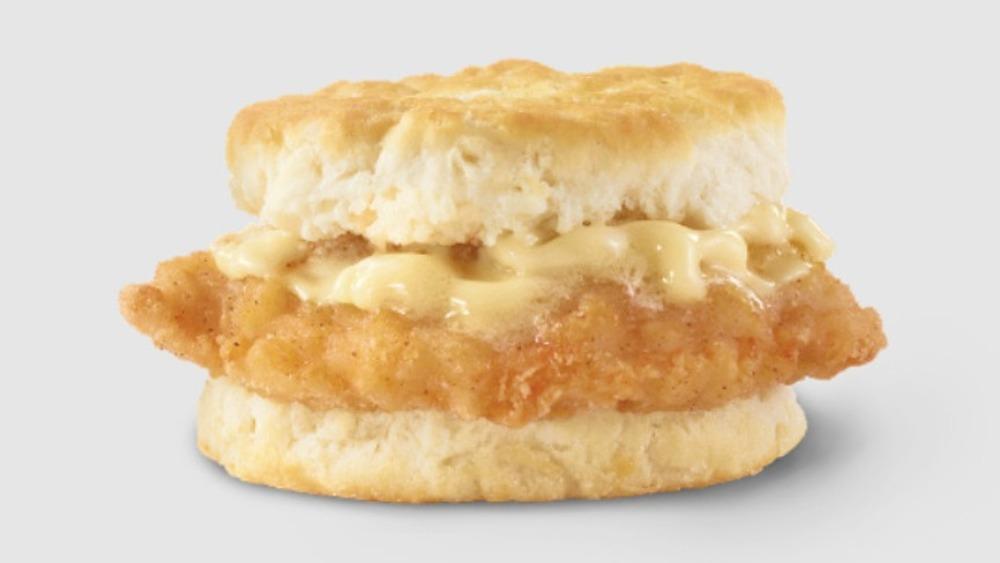 Wendy's free chicken biscuit