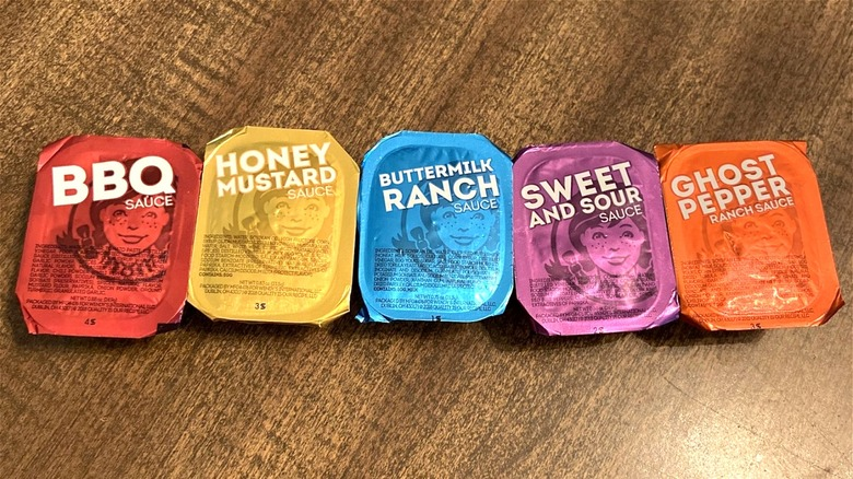 Wendy's sauces