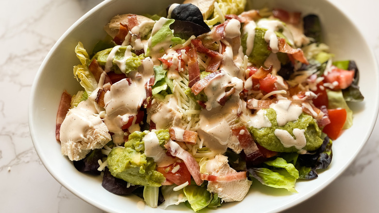 Wendy's Southwest Avocado Salad copycat