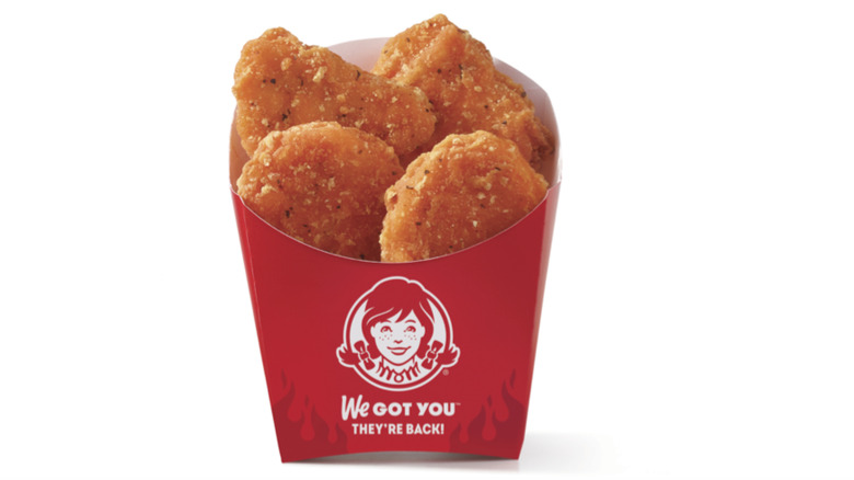 Wendy's spicy chicken nuggets