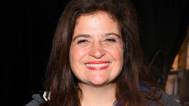 Alex Guarnaschelli attends the Grand Tasting presented by ShopRite featuring Culinary Demonstrations at The IKEA Kitchen