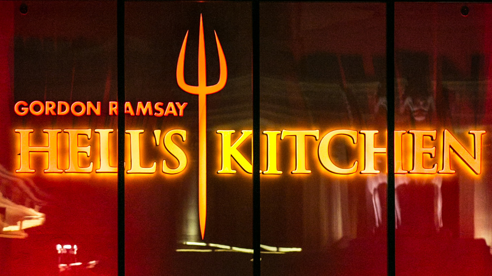 Hell's Kitchen sign