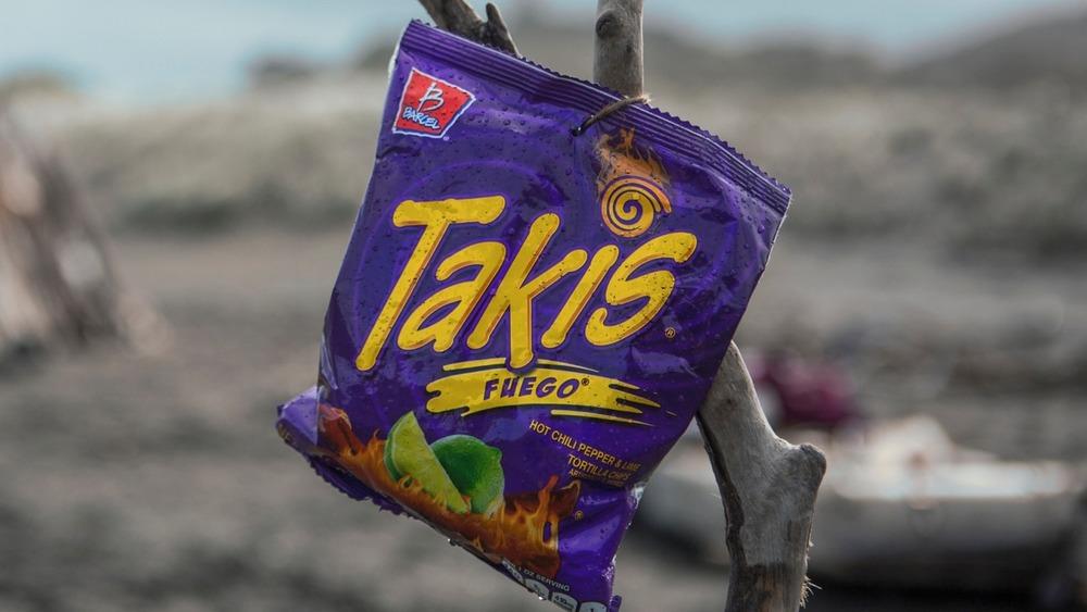 Bag of Fuego Takis