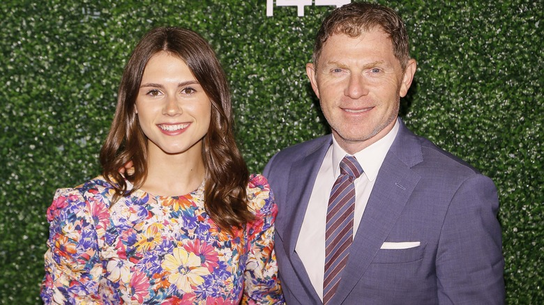 Bobby Flay with daughter, Sophie