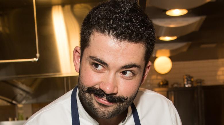 Joe Sasto preparing food