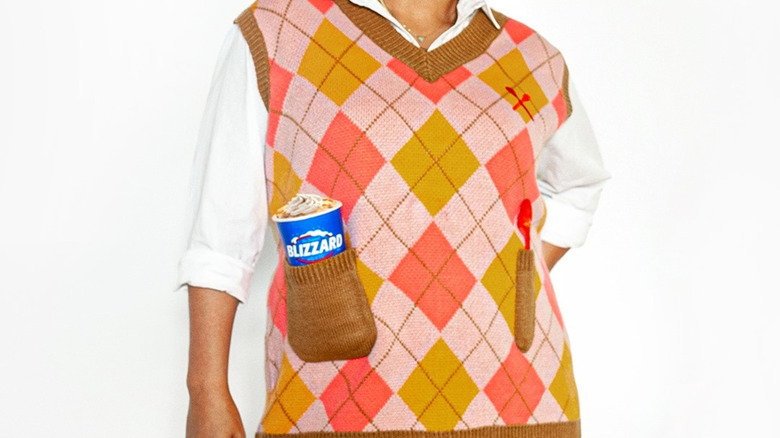 Sweater vest with Blizzard pocket