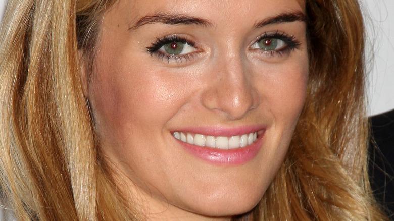 Daphne Oz smiling