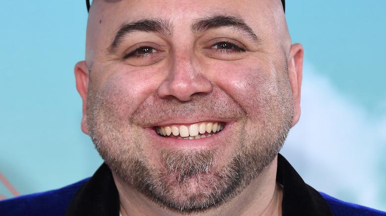 Duff Goldman smiles in close-up