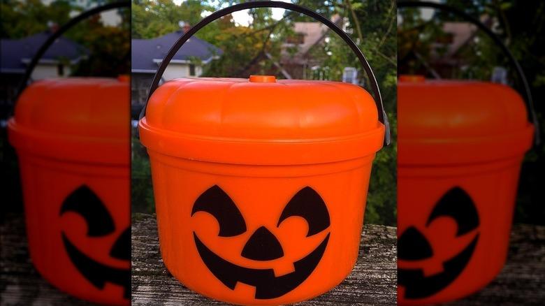 McDonald's Jack-O-Lantern Halloween bucket