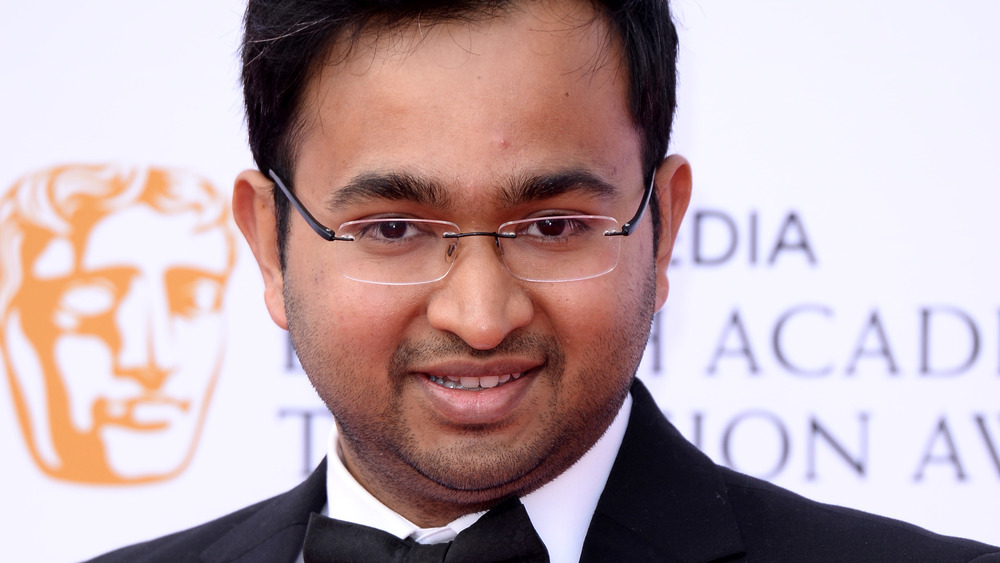 A close-up shot of chef Rahul Mandal