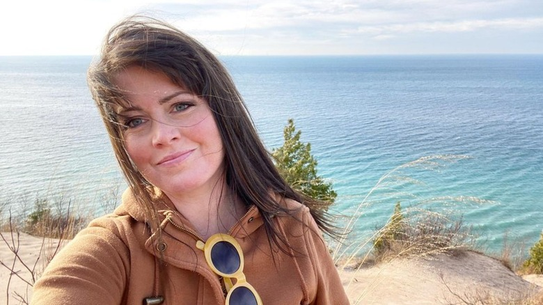 Kimberly Ann Ryan by the sea