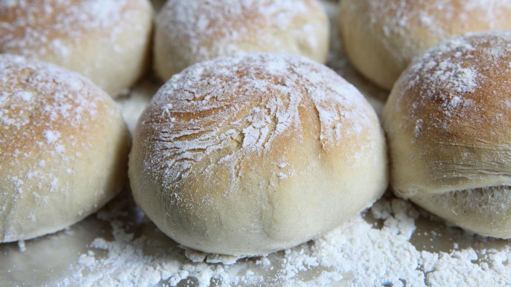 Bap or Scottish rolls