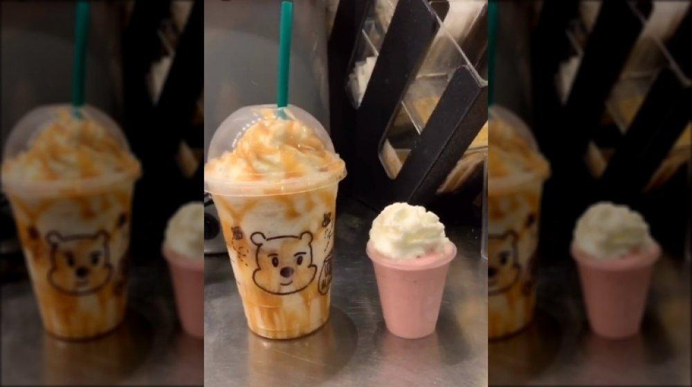 Winnie the Pooh Frappuccino