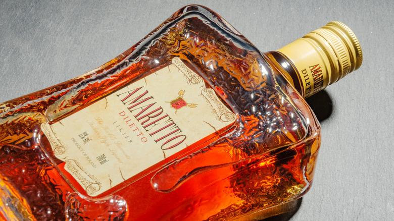 A bottle of amaretto