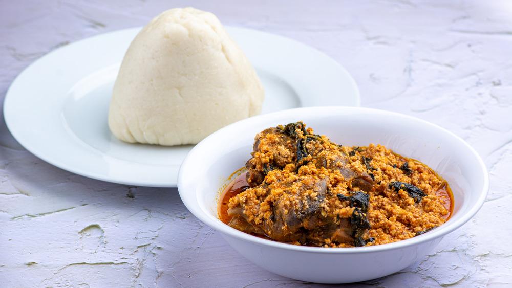 Fufu side dish