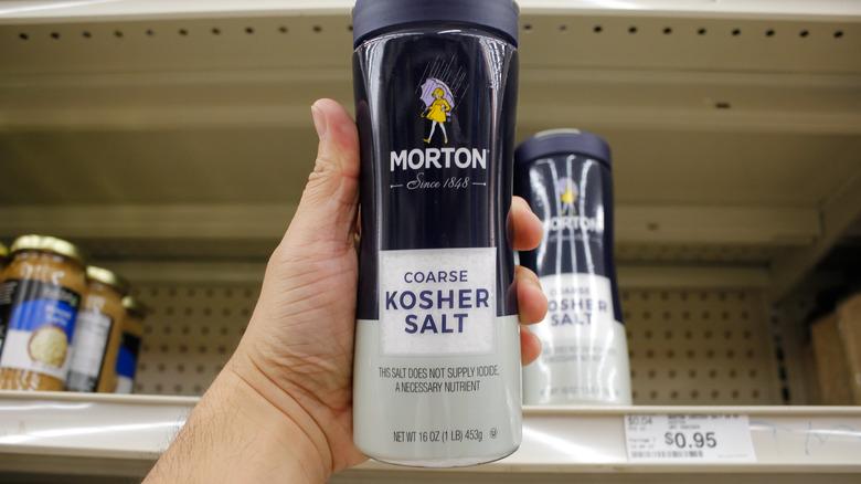 Morton's kosher salt
