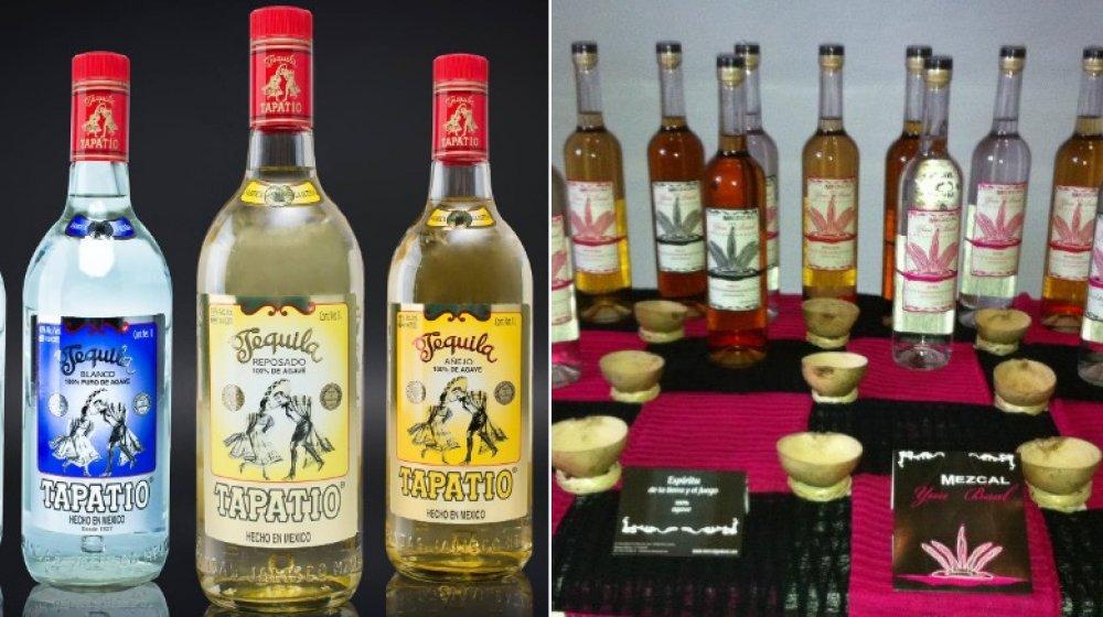 Tequilas and mezcals