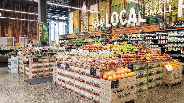 Inside of Whole Foods Market