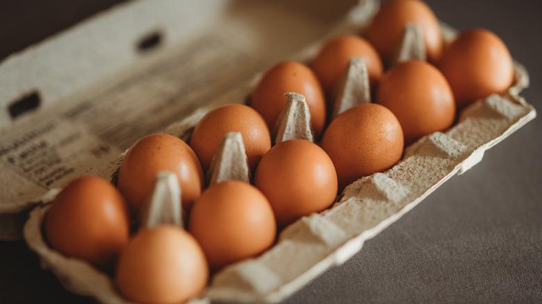Carton of eggs