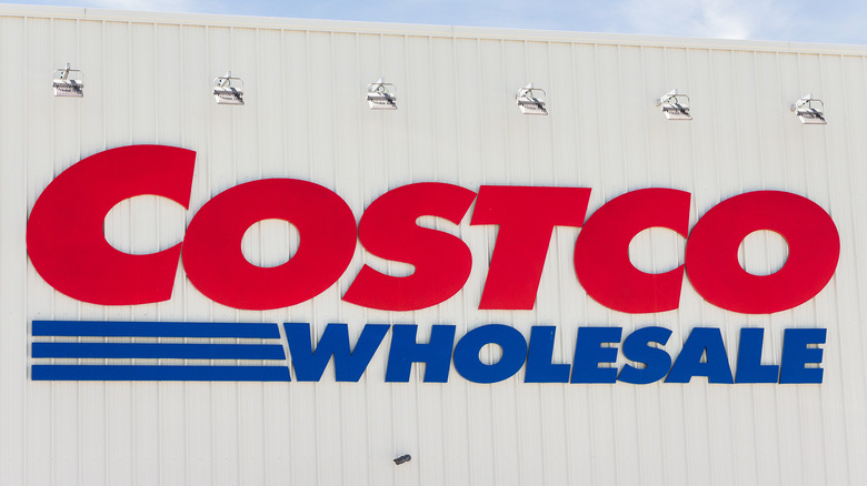 Costco Wholesale sign exterior