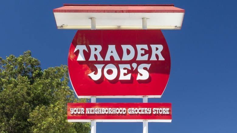 First Trader Joe's sign in Pasadena, California