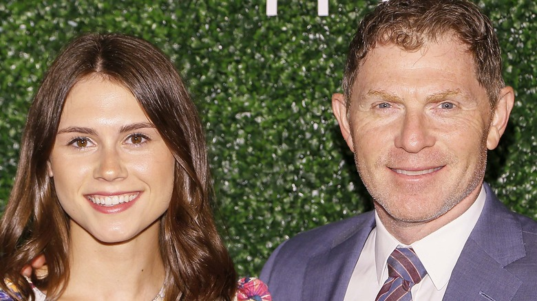 Bobby Flay and daughter, Sophie