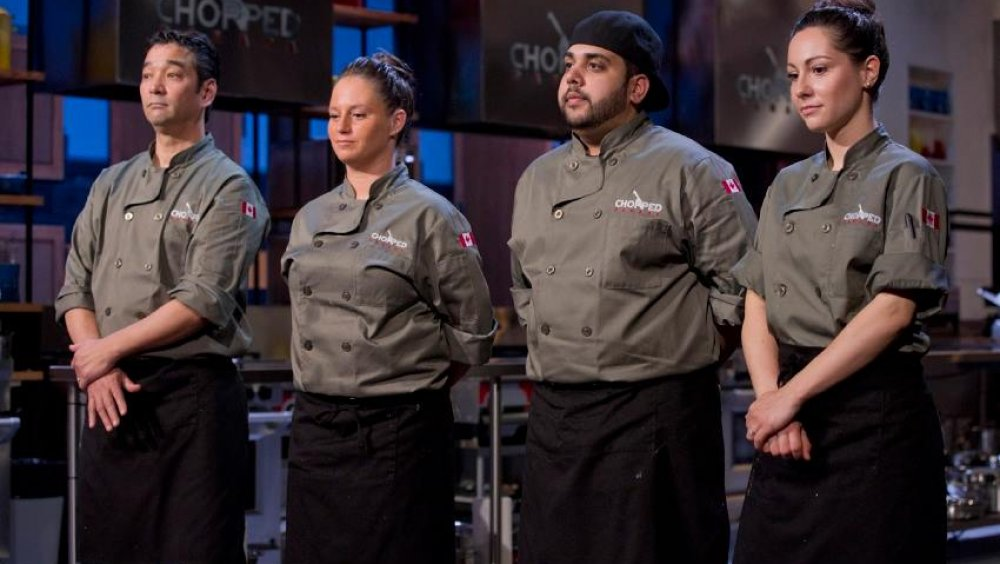 Chopped contestants