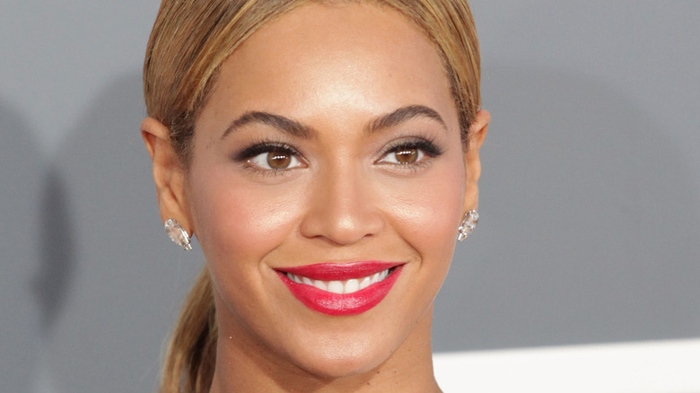 Beyonce on a red carpet