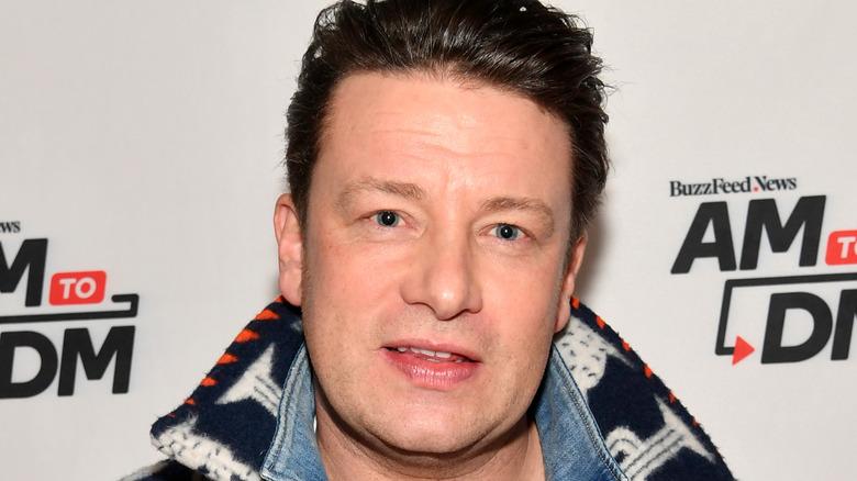 Jamie Oliver close-up